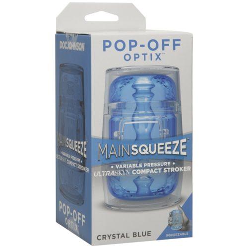 Masturbateur Pop-Off Optix à pression variable