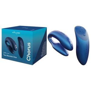 We-Vibe Chorus bleu cosmic avec We-Connect et télécommande